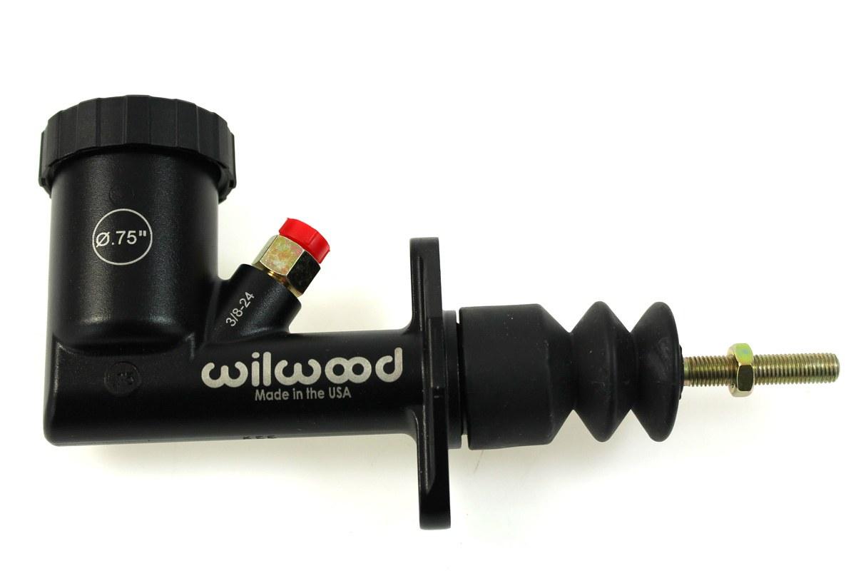 """Pompa hamulcowa sprzęgła ze zbiorniczkiem Wilwood GS Compact 0,75"""" - GRUBYGARAGE - Sklep Tuningowy"""